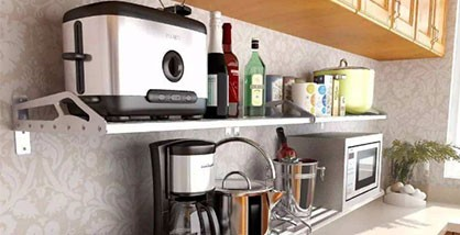 Too many small kitchen appliances, disorderly display?